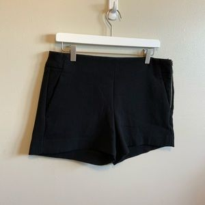 Banana Republic Size 8 Black Dressy Knit Shorts
